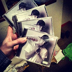 """The final remaining copies of my first studio release still shrink wrapped lol... Props to @craziea for showin luv!... But I think these CDs got their ass whooped haha • <a style=""""font-size:0.8em;"""" href=""""https://www.flickr.com/photos/62467064@N06/8424558963/"""" target=""""_blank"""">View on Flickr</a>"""