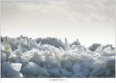 Kuiend ijs (5D043560) (nandOOnline) Tags: winter berg nederland natuur vuurtoren marken landschap noordholland ijselmeer ijs vorst markermeer vriezen ijsschotsen kruiendijs dooien paardvanmarken