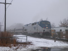 Amtrak Downeaster (Littlerailroader) Tags: railroad train publictransportation newengland trains amtrak transportation locomotive trainspotting locomotives railroads passengertrains andovermassachusetts amtrakdowneaster