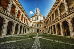 Rome Courtyard-104.jpg (Mario Giambattista) Tags: rome lines architecture buildings square site perspective churches cathedrals landmark courtyard architectural historic renaissance converge