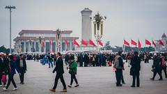 Beijing [] '16 - Tiananmen Square [] 06 (Barthmich) Tags: voyage china trip square fuji place beijing journey fujifilm  1855mm  fujinon tiananmen chine xf pkin  ligthroom xe2 fujixe2
