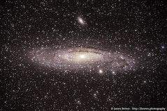 The Andromeda Galaxy (M31) & The Edward Young Star (M110) (J. Brown Photography) Tags: james brown photography alpha skywatcher star adventurer galaxy stars astrophotography astronomy andromeda m31 edward young m110 ngc205 ngc224 ngc 224 205