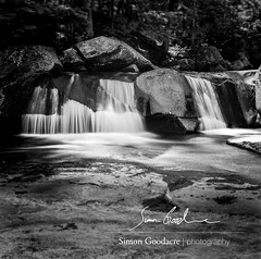 Waterfall in Grafton Notch State Park