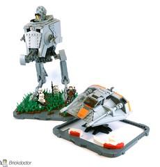 T-47 -- Up Next! (Brickdoctor) Tags: lego star wars t47 snowspeeder