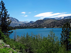 June Lake and Sierra Range 2016 (inkknife_2000 (6.5 million views +)) Tags: easternsierranevada california usa landscapes mountains snow snowonmountains dgrahamphoto junelake mountainlake thunderhead skyandclouds carsonmountain forest