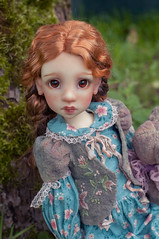 Face-up, outfit, teddy-bear made by me (olesyagavr) Tags: kaze kids kaye wiggs abby teddy