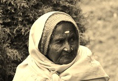 Ooty Paati up close and personal (masalatea|filtercoffee) Tags: ooty paati portrait faces people tamilnadu incredibleindia india old age female woman