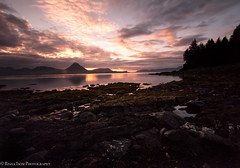 Abercrombie sunset. Kodiak, Alaska (rishaisomphotography) Tags: longexposure nature naturephotographer alaska landofthemidnightsun fortabercrombie kodiak scene scenic water ocean sea bay red rocks tides