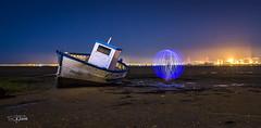 Bola de luz en el mar (Roberto EYEPICS) Tags: sanfernando andaluca espaa es