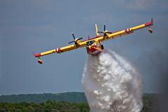 Canadair CL-415 (JOAO DE BARROS) Tags: barros joo canadair firefighting aircraft aeronautical fly vehicle