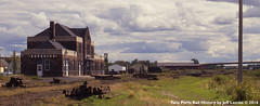 Superior Union Depot at Superior, Wisconsin on September 13, 1987 (Twin Ports Rail History) Tags: 1987 twin ports rail history by jeff lemke time machine superior wisconsin lstt lake terminal transfer railway yards union depot
