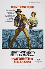 """Two Mules for sister Sara"" (Static Phil) Tags: shirleymaclaine clinteastwood manolofabregas albertomorin movieposter westernmovie"