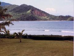 Views of Hanalei Bay - c1983 (2) (kimstrezz) Tags: 1983 familytriptohawaiic1983 hanaleibay kauai