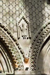 Bishop (ianhb) Tags: france bayeux cathedral gothic stone romanesque