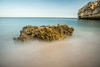 (Attila Pasek) Tags: portugal beach longexposuretime rock sea water