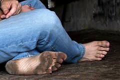 dirty feet 066 (dirtyfeet6811) Tags: feet soles barefoot dirtyfeet dirtysoles blacksoles cityfeet