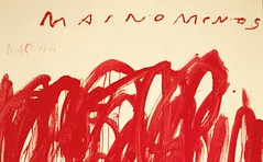 Reading Cy Twombly (artpicktexture) Tags: reading cy twombly