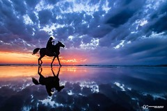 Gaza beach after sunset (TeamPalestina) Tags: gaza palestine photgraphy lifestyle life marvellous frame love hope happiness beachlife beaches landscape seascape sea waves sunset sunsetlovers sky clouds photographer sunsets