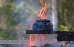 Coffee fire [Explored] (Wanha-Erkki, Old Eric, Gammal Erik, ) Tags: fire coffee