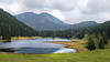A quiet mountain lake (rotraud_71) Tags: austria salzburgerland seewaldsee bergsee mountainlake water trees mountains clouds september reflections absolutelystunningscapes greatphotographers