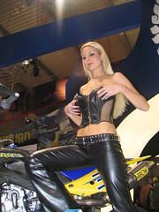 beauty model (themax2) Tags: blondie 2005 milano hostess girl promoter eicma