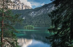 Eibsee (haziri.heroid) Tags: tanne wood wald natur dream picture bild island insel green water blue sky himmel sommer summer snow alps alpen lake see berge bavaria bayern landscape landschaft