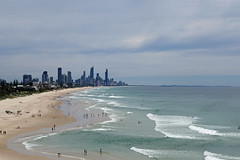 Whale watching this morning from Nobby's Beach, lots of whales but too far away to photograph. (nzboyinoz) Tags: 2016 justin panasonic lumix dmctz110 goldcoastaustralia sun beach goldcoast queensland nobby surfersparadise