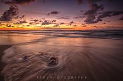 Fading Away (Explore 27/09/2016) (RTA Photography) Tags: rta photography jastrzbiagra baltic sea dusk sunset colours clouds beach light