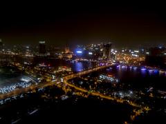 La ciudad vista desde la Torre de El Cairo, Egipto