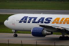 Atlas Air | Boeing 767-300ER @ GRU (Aidan Formigoni) Tags: brazil brasil plane airplane airport sãopaulo aircraft aviation aeroporto atlas boeing avião spotting 767 aviação guarulhos gru atlasair 767300 763 sbgr