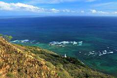 diamond head lighthouse, oahu, hawaii (wmwielenga) Tags: ocean lighthouse hawaii pacific oahu diamondhead honolulu diamondheadcrater diamondheadlighthouse diamondheadcraterpark