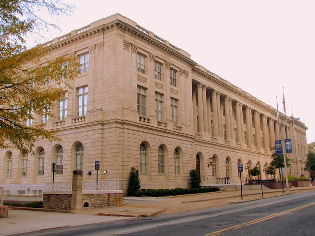 United States Custom House, Court House and Post Office