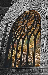 Hyde Park, IL  -- church window (aliye hart) Tags: elementsorganizer