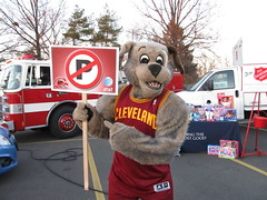 Salvation Army (8) (Moondog Mascot) Tags: food lake army drive discount wing drug monsters erie sully militant salvation 19 channel mart moondog cavaliers strongsville 12122012 cavsmoondog