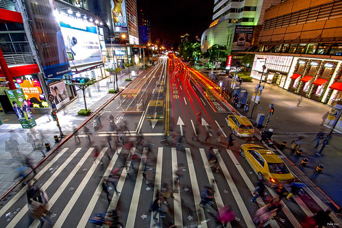 Busy Taipei by Peter Kuo., on Flickr