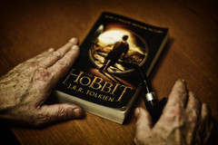 the Hobbit. (132/365) (popp1973) Tags: book pipe hobbits tolkien thehobbit oldhands