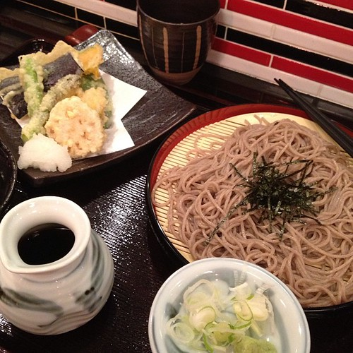 Soba at sojibo on Sawtelle. Not bad, but not ichimian.