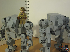 MF-1 (THE CAT WORKER) Tags: lego mech moc