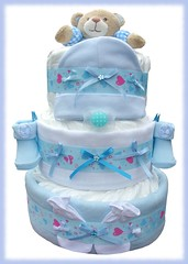 Nappy Cake (56) (Labours Of Love Baby Gifts) Tags: babygift nappycake nappycakes newbabygifts laboursoflovebabygifts
