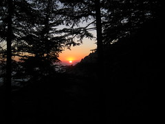 Sunset in Dharamkot
