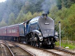 NYMR Levisham LNER A4 4-6-2 DSCN1415mods (Andrew Wright2009) Tags: uk england pacific yorkshire north railway moors streamlined a4 levisham nymr lner 462 gresley