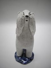 Polar bear (danahaneunjeong) Tags: bear ceramic doll polarbear polar icebear