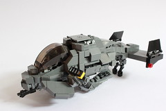 Air Shark Mk II Instructions & Update (Andreas) Tags: lego instructions darkwater thepurge airshark darkwatergunship thepurgedarkwater