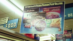 Vintage grocery packaging (saguarosally) Tags: arizona money sign vintage market superior az save grocery