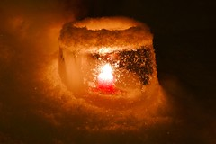 Ice Lantern (timo_w2s) Tags: christmas winter snow ice finland lantern