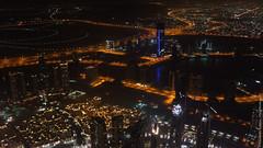 Вид с небоскреба Бурдж Халифа
