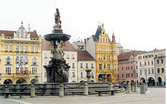 Czech Republic, Ceske Budejovice, Main Square by m. muraskin-czech republic (m. muraskin) Tags: ii czechrepublic mainsquare ceskebudejovice namesti otakara premysla