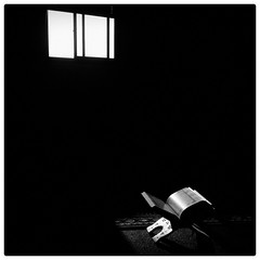 Read ! (din72) Tags: blackandwhite stilllife islam mosque copyspace ramadhan bnw instagram iphone4s