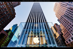 The Apple Store (Jeff_B.) Tags: apple glass architecture applestore midtown cube eastside 59thstreet gmbuilding plazzahotel