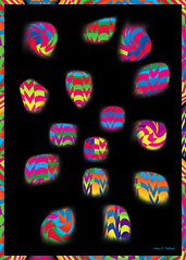 Rock Party (merripat) Tags: pink blue red party orange abstract color green colors yellow rock digital photoshop rocks pattern purple patterns illustrator rockparty